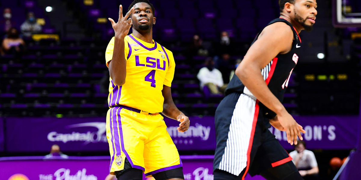 LSU forward Darius Days to enter name into 2021 NBA Draft