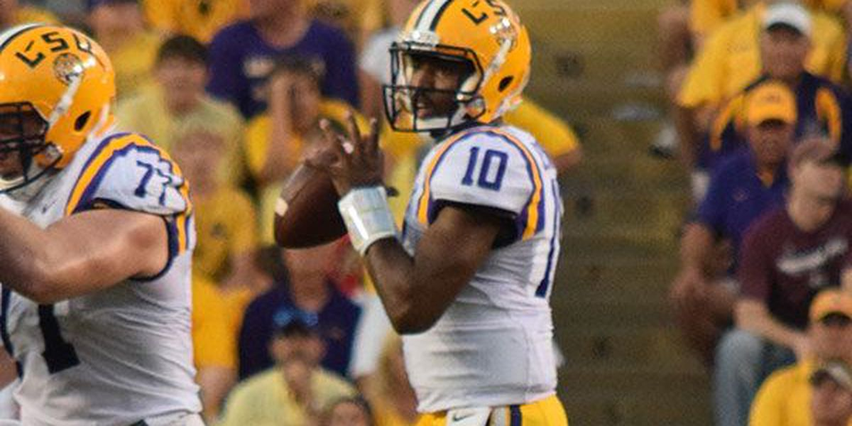 Quarterback Anthony Jennings to transfer from LSU
