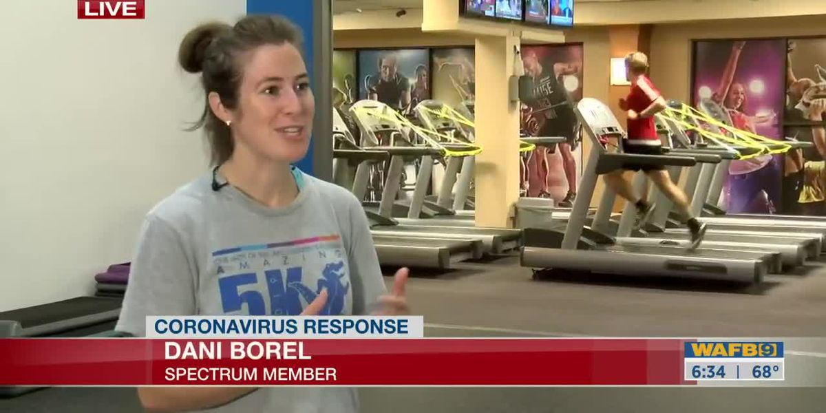 Gyms re-open in Louisiana as a part of Phase 1 - 6:30 a.m.