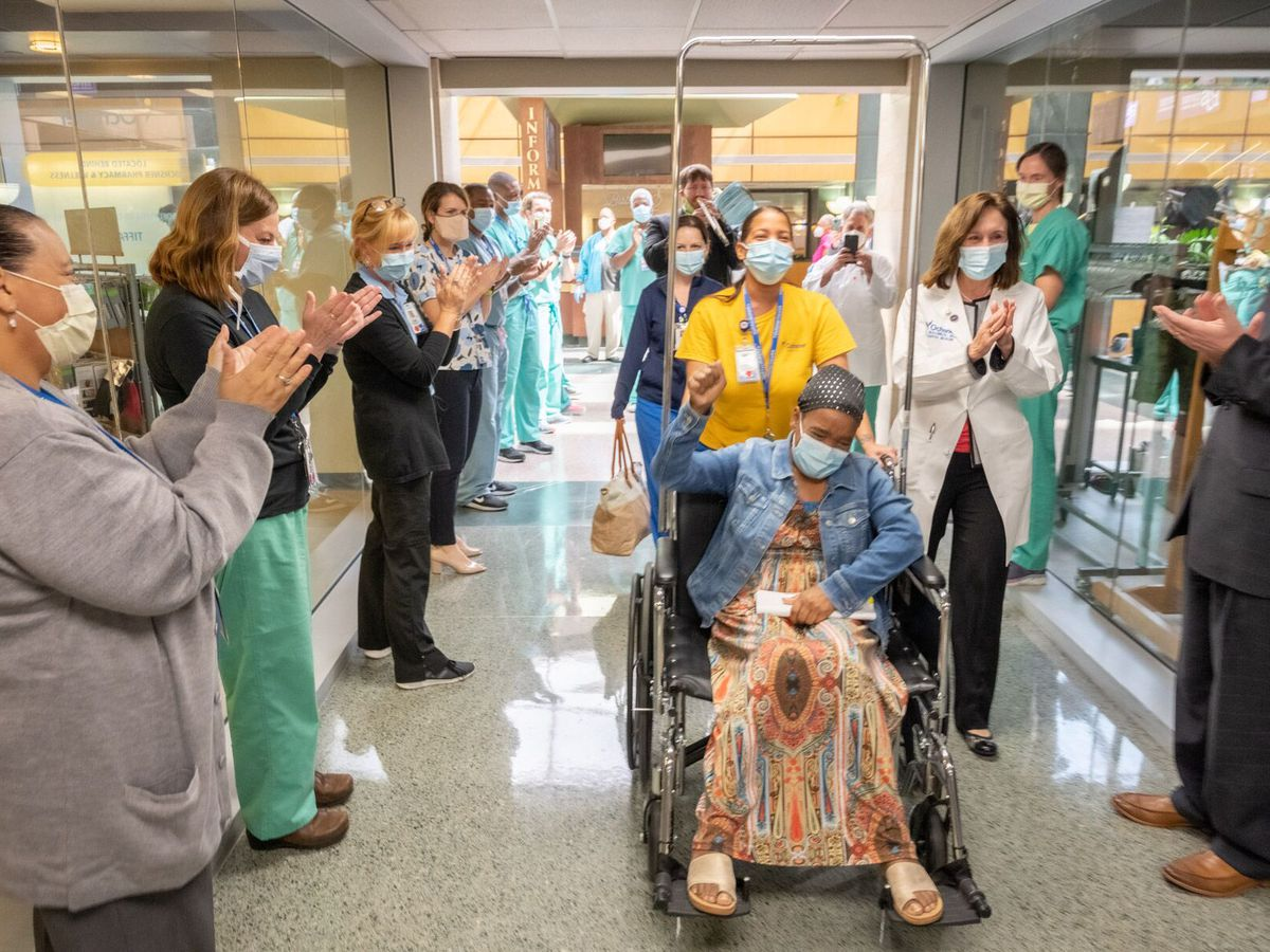Ochsner Health releases 1,500th COVID-19 patient since March 9
