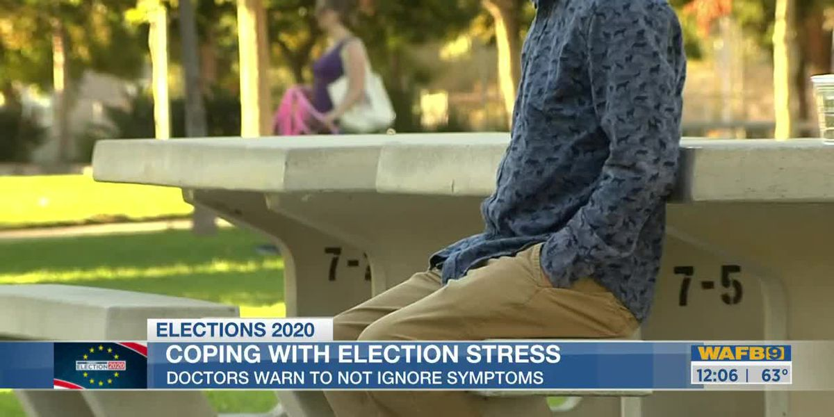 Managing election stress, tips from the experts