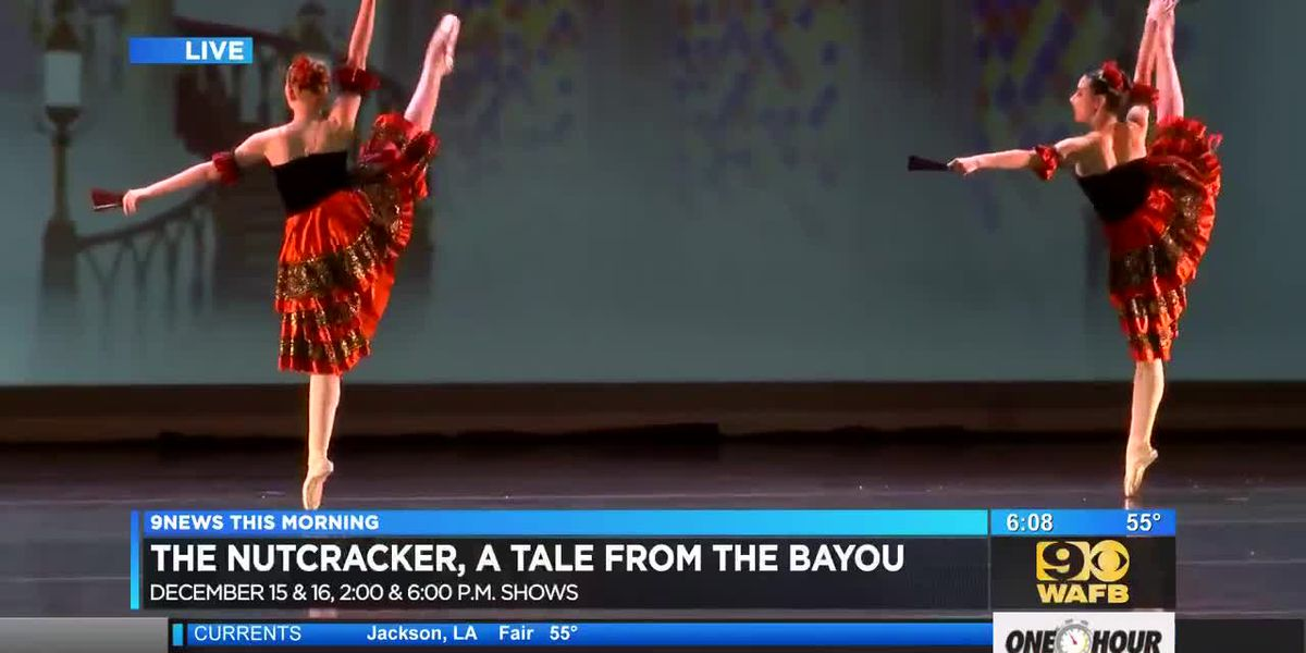 The Nutcracker - A Tale from the Bayou 2018 - Spanish Dance