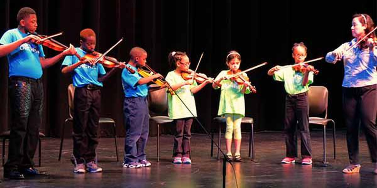 Kids' Orchestra to hold series of concerts for Baton Rouge schools