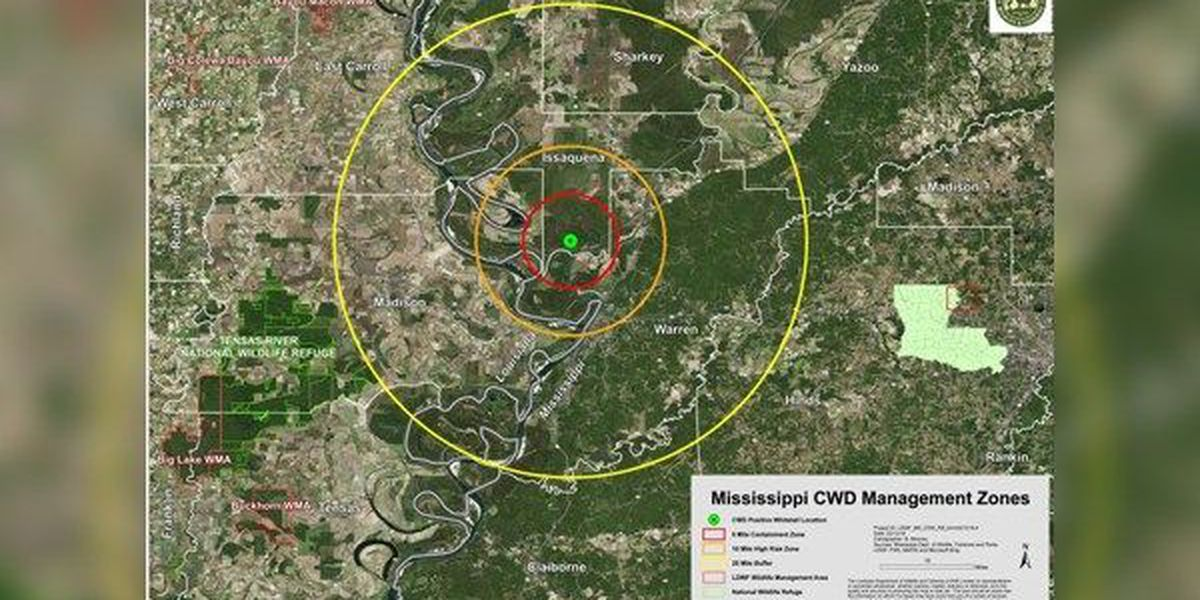 LDWF biologists, veterinarians meet with Arkansas, Mississippi personnel to review Chronic Wasting Disease response