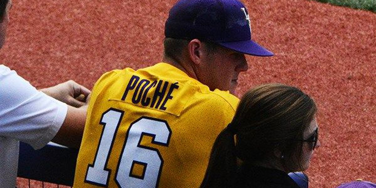 Jared Poche' picked in 9th round of MLB Draft by Oakland A's