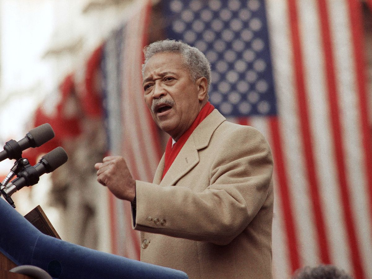 NYC's first African-American mayor, David Dinkins, has died