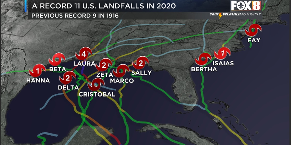 2020 Hurricane Season: A look at the long list of broken records