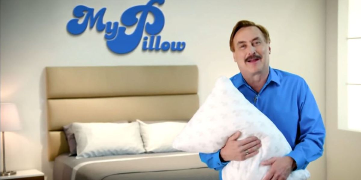 Twitter permanently bans My Pillow CEO