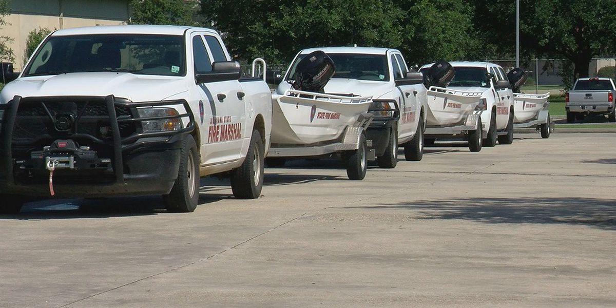 Urban Search and Rescue teams head to Florida, boats and heavy water gear in tow