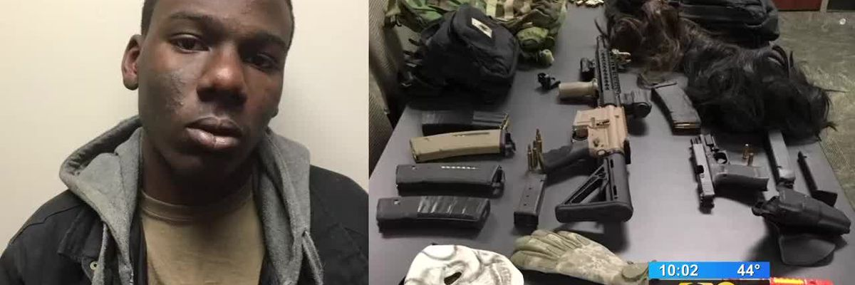 Teen arrested in theft of guns, vests, from state police, EBRSO units