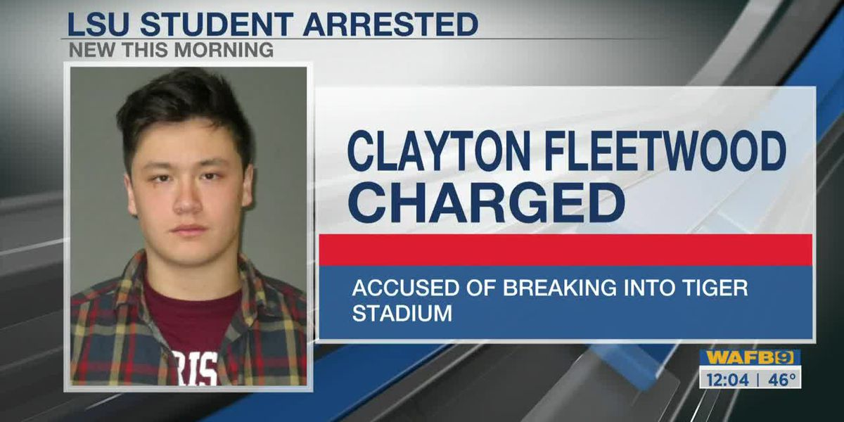 LSU fraternity member accused of breaking into Tiger Stadium and going on joyride