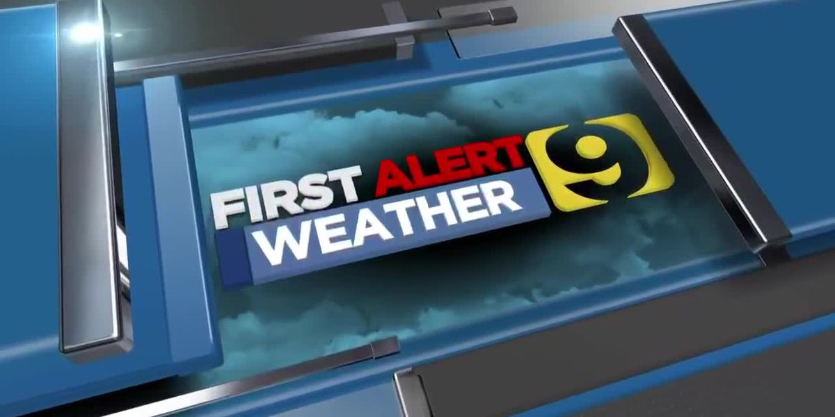FIRST ALERT FORECAST: Wet start to new week thanks to Cristobal