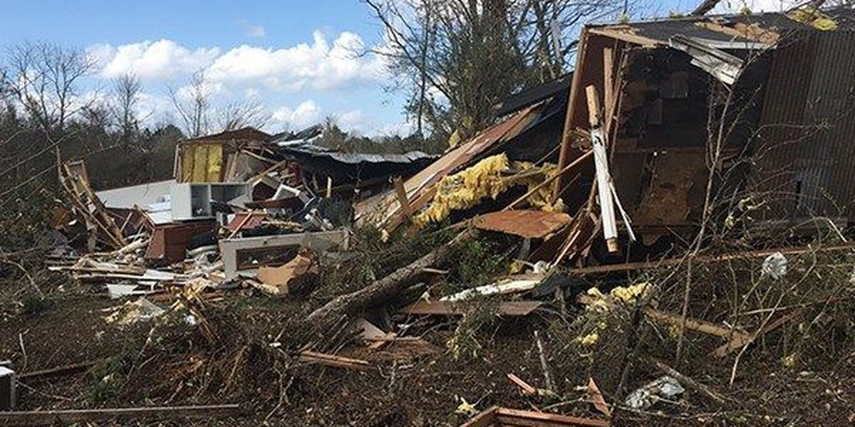 Gov. Edwards sends letter to FEMA to appeal assistance denied to some areas hit by tornadoes