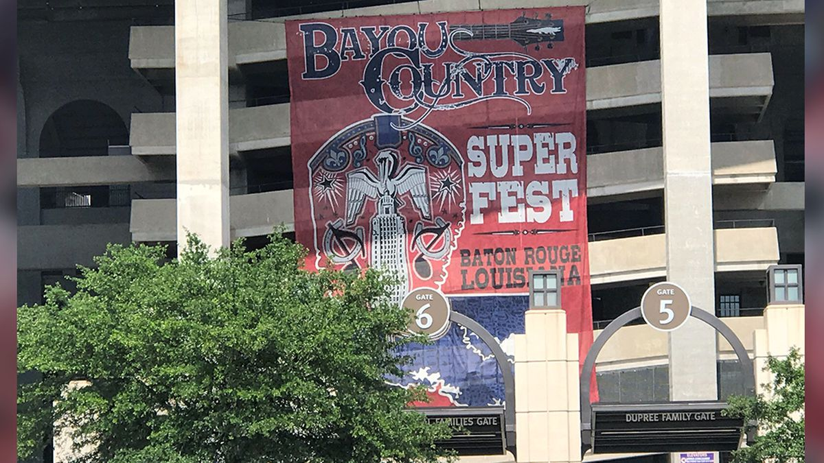 Kenny Chesney, Jason Aldean headline Bayou Country Superfest at Tiger Stadium for Memorial Day weekend