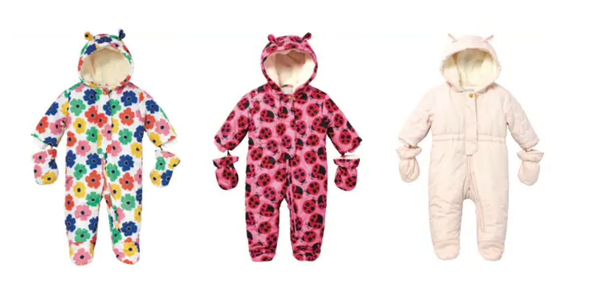 The Children's Place recalling infant snowsuits due to choking hazard