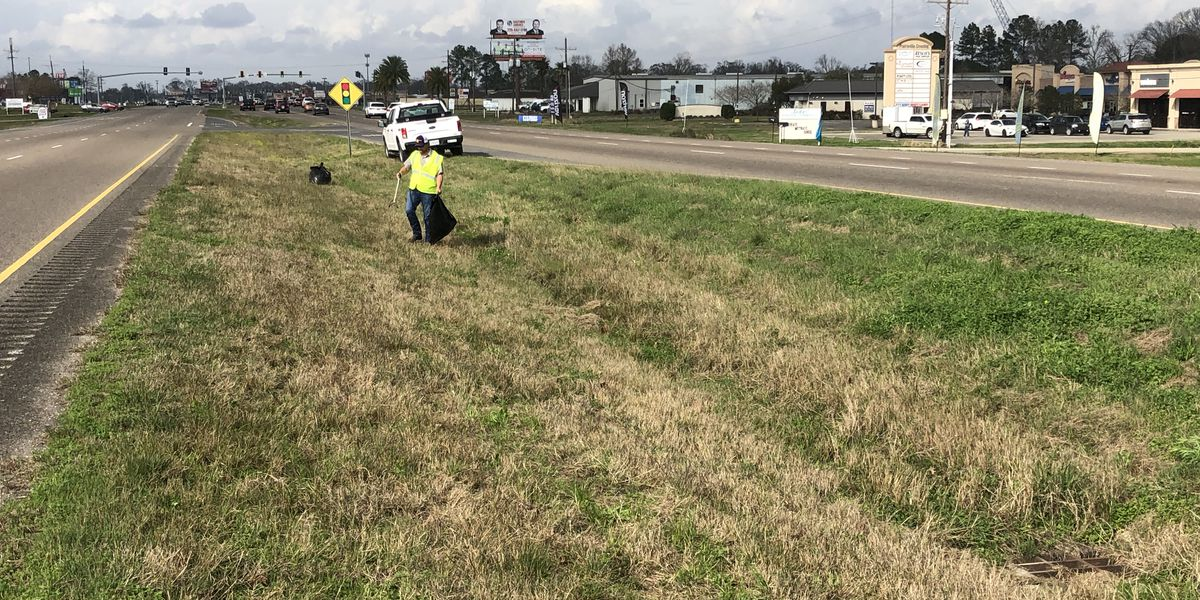 Ascension Parish crews focus on cleaning up trash, asking for your help