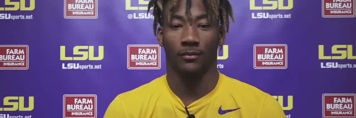 LSU CB Jay Ward - 11/24/20 (Full Interview)