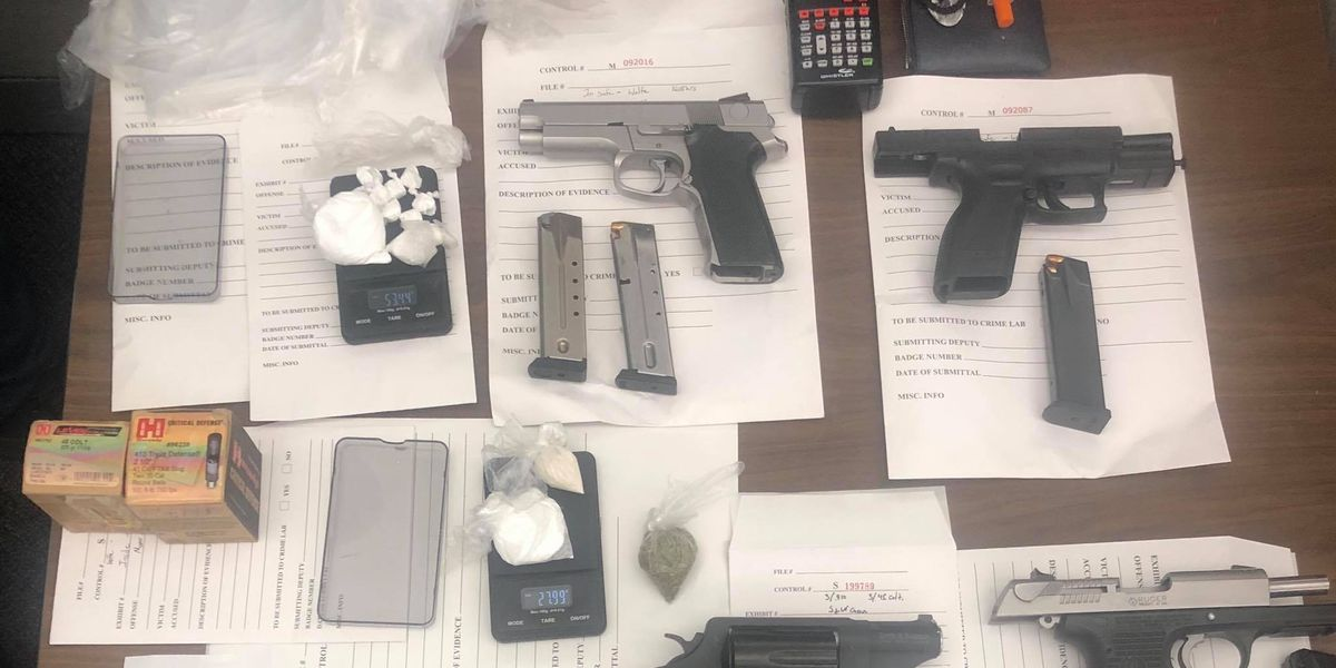 Man and wife arrested for conducting drug sales out of vehicle with child present