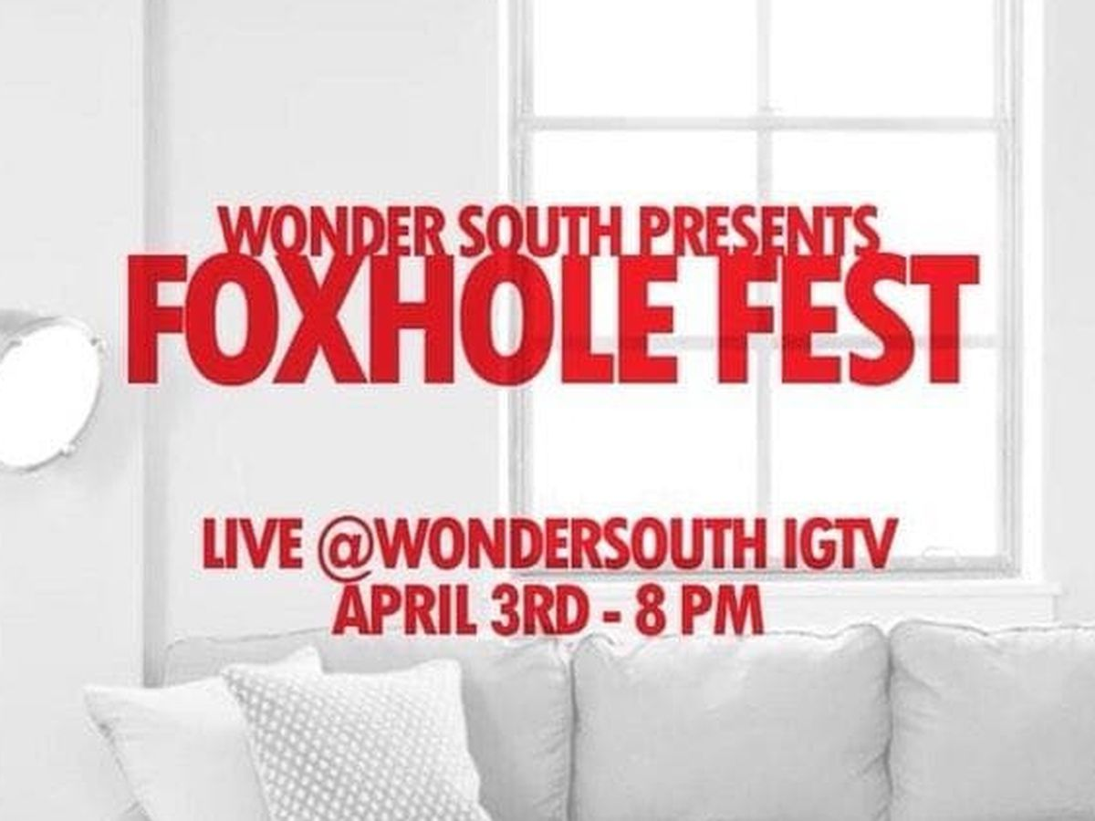 Foxhole Fest brings La. talent live to your IG feed