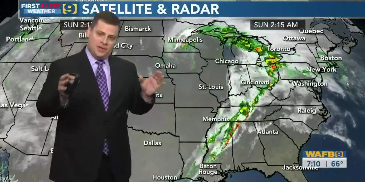 FIRST ALERT FORECAST: Sunday, March 29