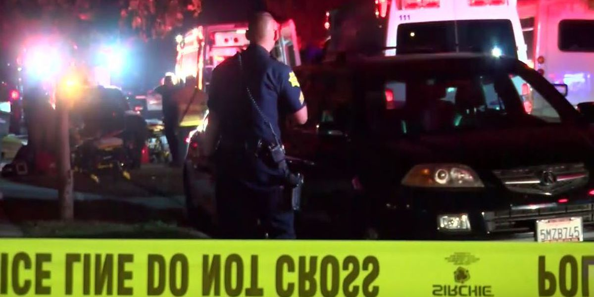 Police: 10 shot, 4 killed at backyard party in California