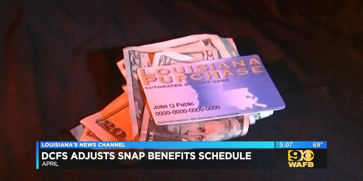 April SNAP benefits will be slightly off schedule due to partial government shutdown