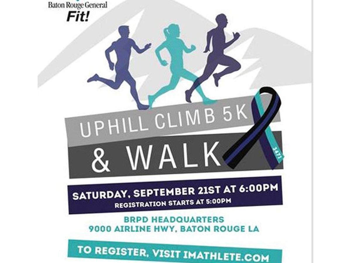 Baton Rouge police to host 5K fundraiser for suicide awareness, prevention