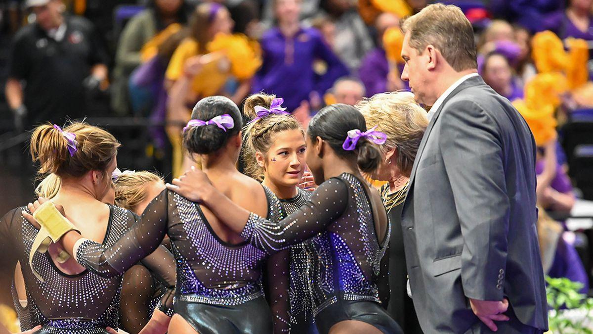 LSU gymnastics set for 8-meet, SEC-only schedule