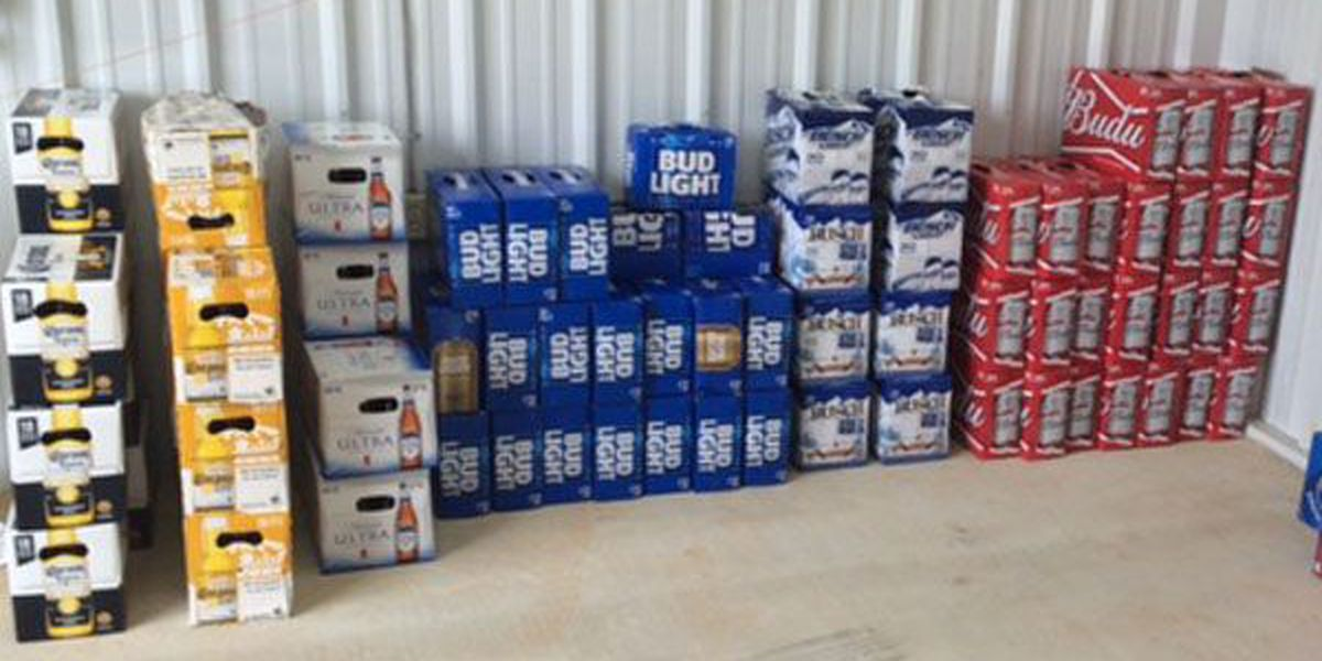 Store manager, 3 people, arrested for selling stolen beer