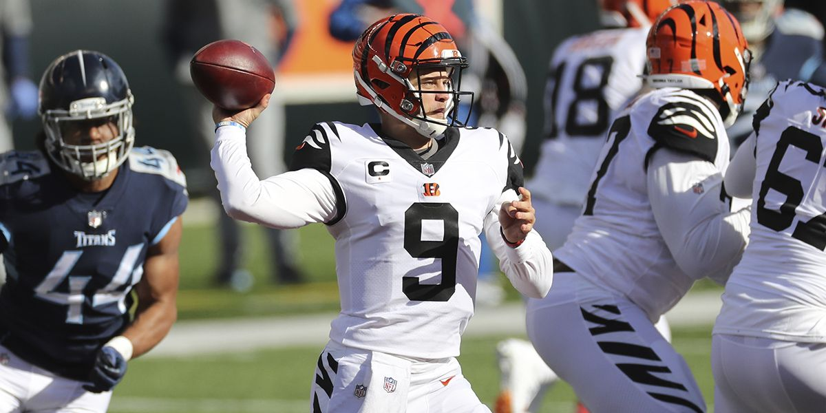 Joe Burrow leads Bengals to upset win over Titans