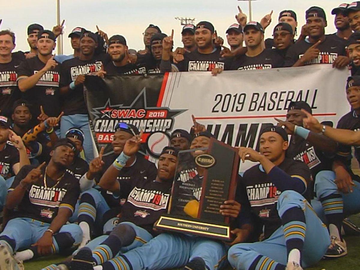 Southern baseball wins SWAC Championship