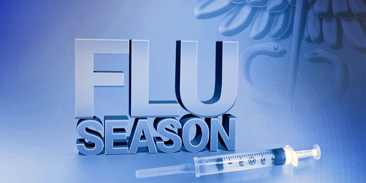 Unusual flu season strikes in Louisiana; second peak to come