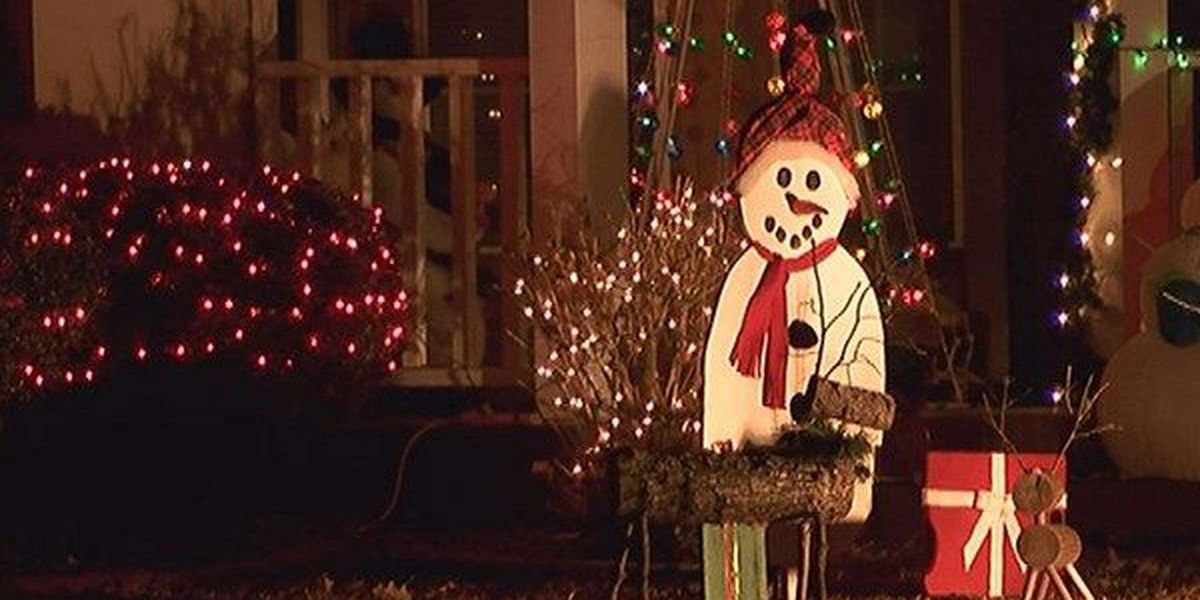 EMS suggests people use extra caution when putting up decorations