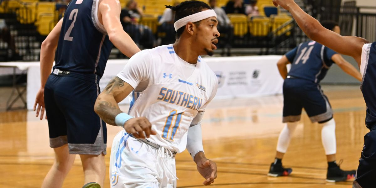 Blake hits 2 jumpers late to carry Southern over IUPUI 83-77