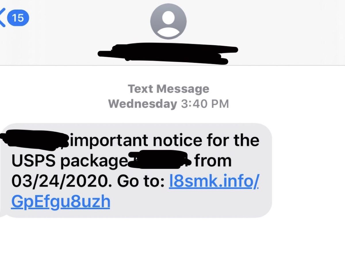 BBB warns people to not click on suspicious links about tracking packages or problems with deliveries