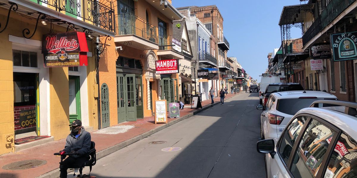 New Orleans hotel occupancy staggeringly below normal through Mardi Gras