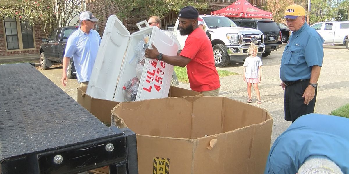 Clean out your freezer! Baton Rouge residents donate meat to the hungry