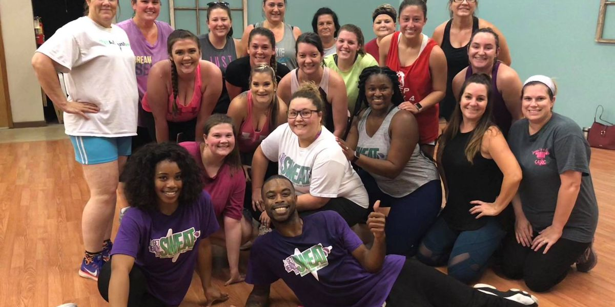 Get Ready to Sweat teaches 'jiggercise' aerobics