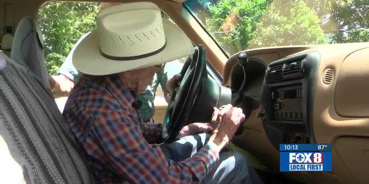 Easy Rider: 109-year-old Covington man still on the go