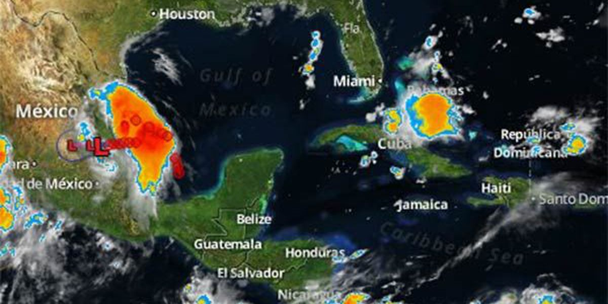 Dolly weakens to tropical depression over Mexico