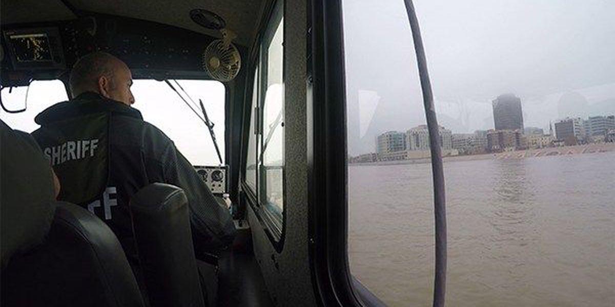 EBRSO continues to patrol river as water rises