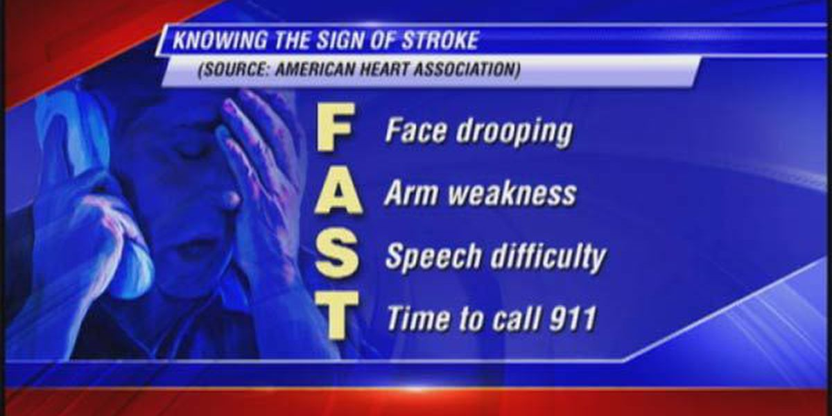 Learn the signs of stroke 'FAST'