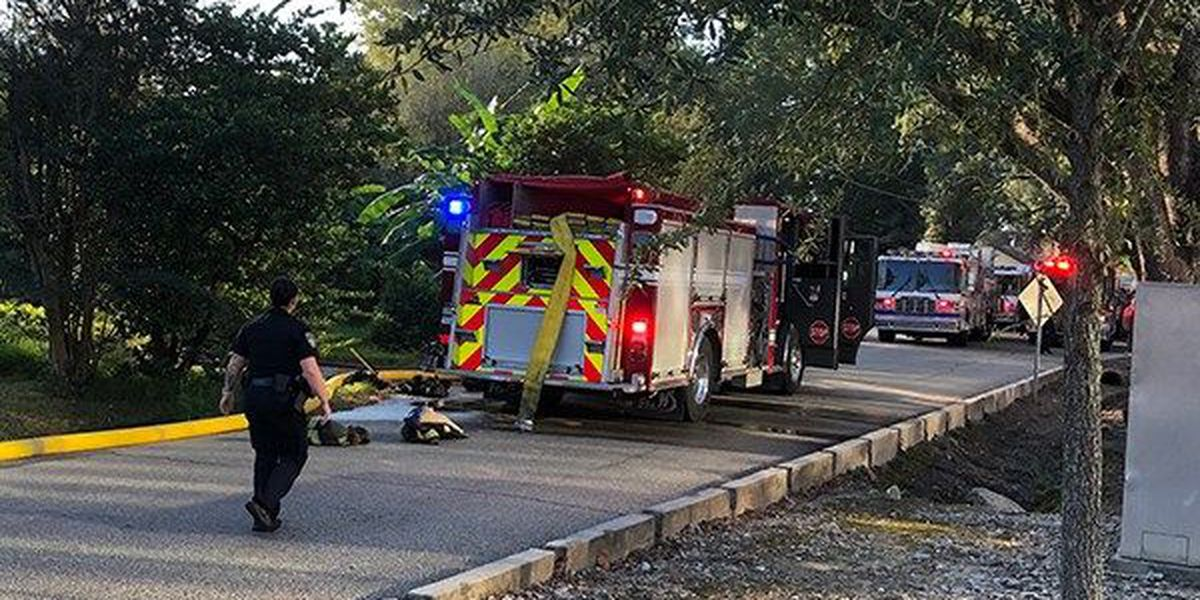 2-story house catches fire near Baton Rouge Magnet High