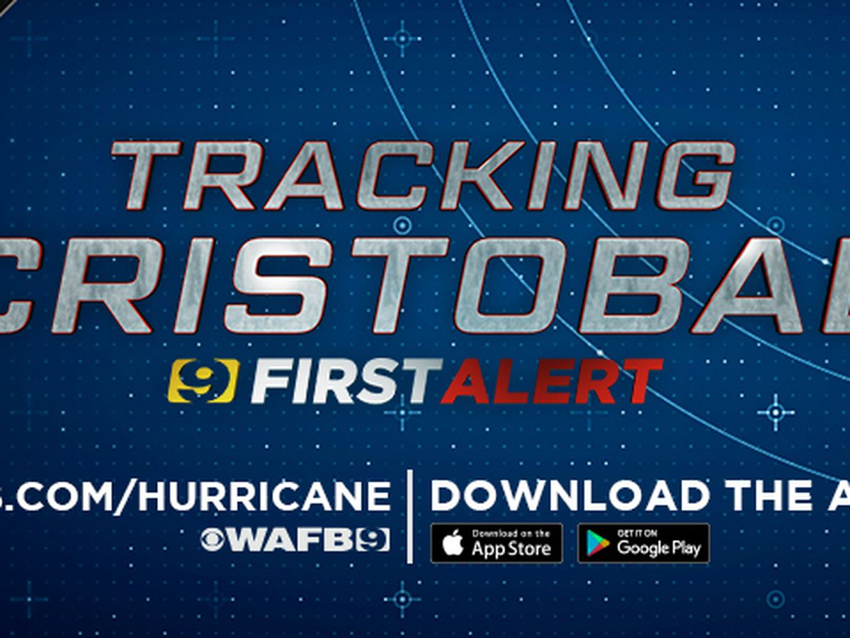 Cristobal potentially less than 24 hours away from landfall in Louisiana