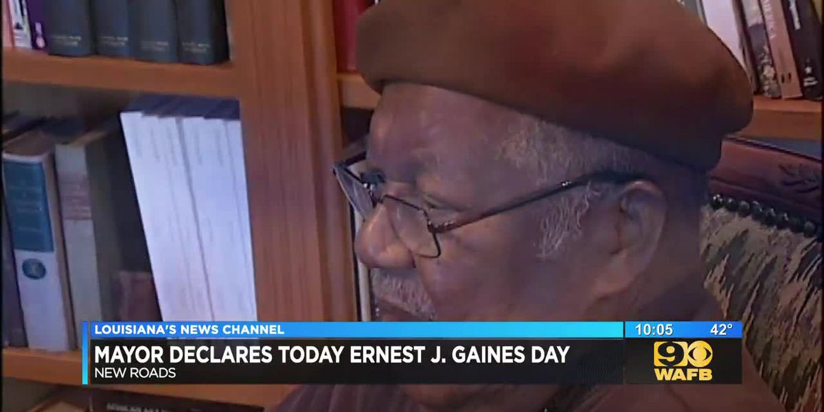 New Roads mayor declares Ernest Gaines Day to honor late author