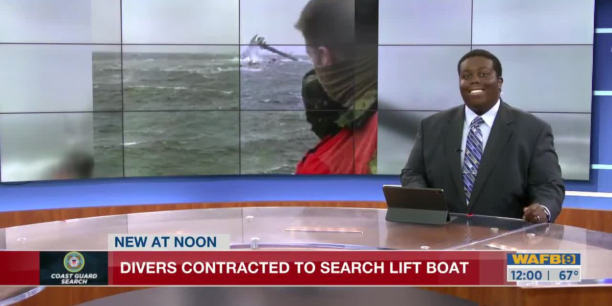 Divers to examine capsized lift boat off La. coast