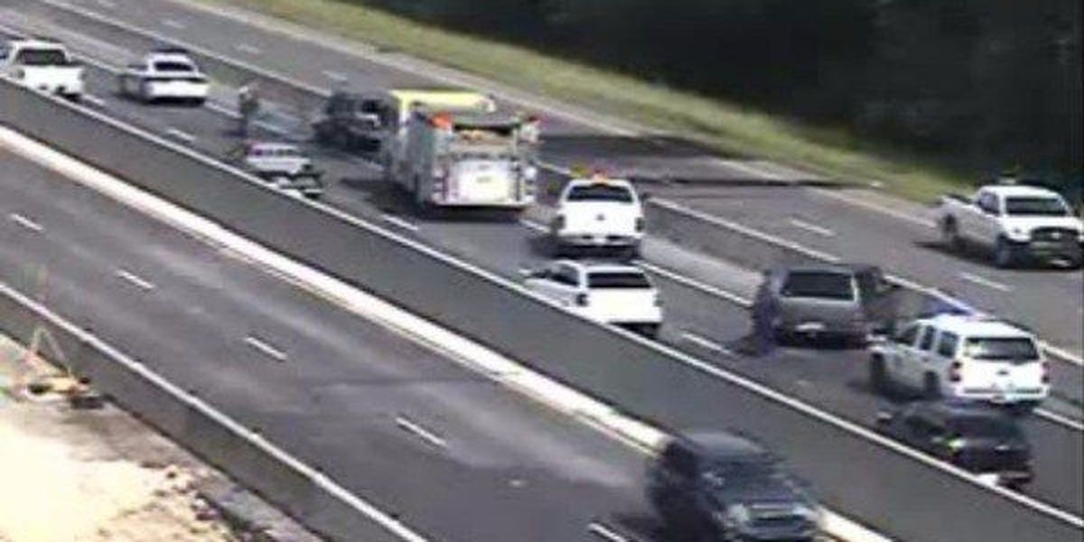 I-12 E past Walker reopens after vehicle fire closed both lanes, expect delays