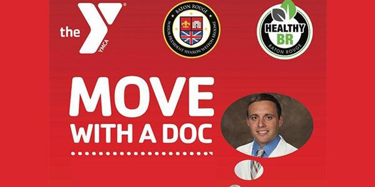 Move with a Doc event planned for Saturday