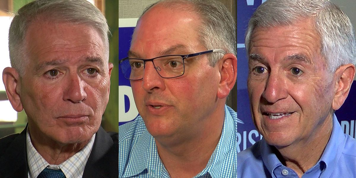CANDIDATE PROFILES: Gov. John Bel Edwards, Ralph Abraham, and Eddie Rispone