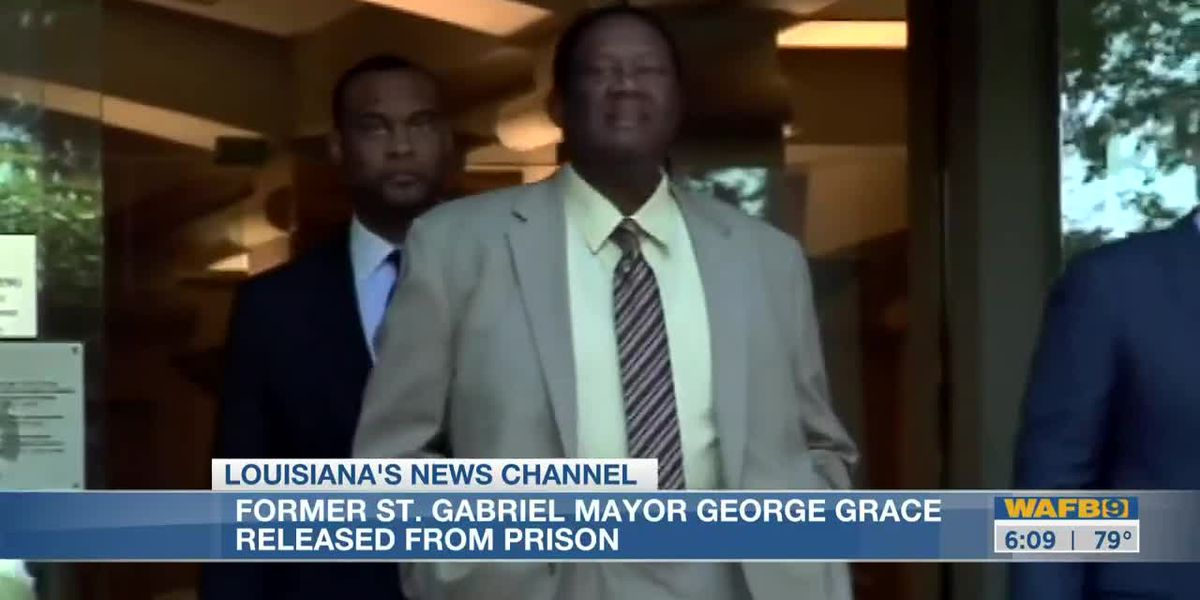 Former St. Gabriel mayor released from federal prison early